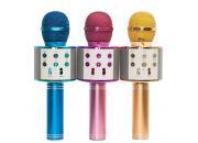 Микрофоны караоке с колонкой