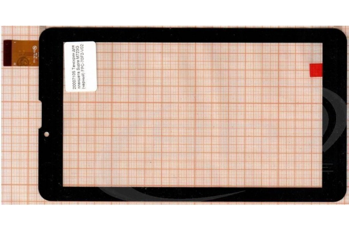Тачскрин для планшета IconBit NetTAB SKY 3G QUAD (NT-3704S) (черный) (105)