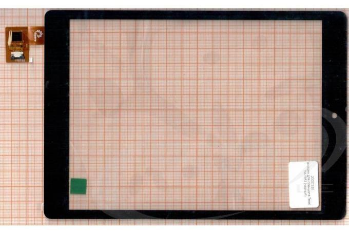 Тачскрин для планшета F0735  0869-V02-1017 (черный) (330)