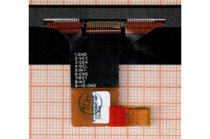 Тачскрин для планшета Oysters T84 3G (черный)