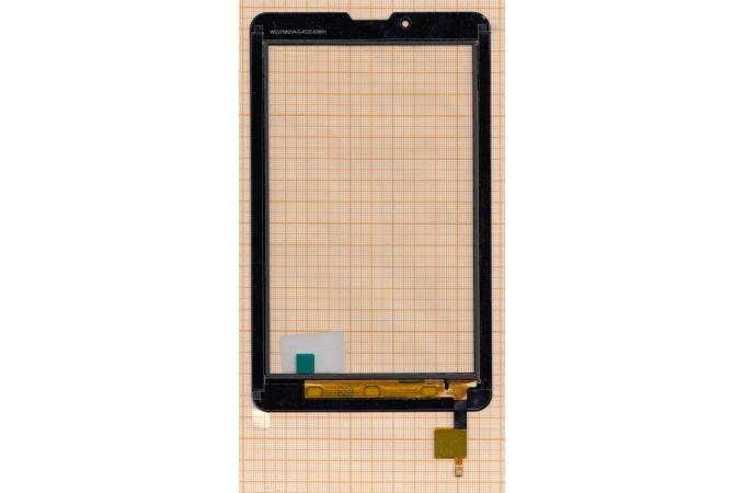Тачскрин для планшета f-wgj70601-v2 (черный) (151)