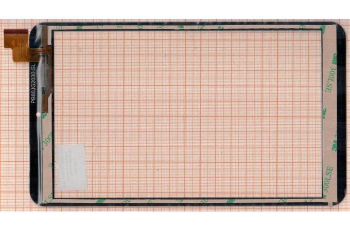Тачскрин для планшета Prestigio MultiPad Visconte Quad 3G PMP881TD (черный)