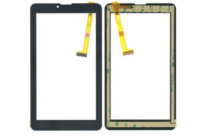 Тачскрин для планшета RoverPad Pro Q7 LTE (черный)