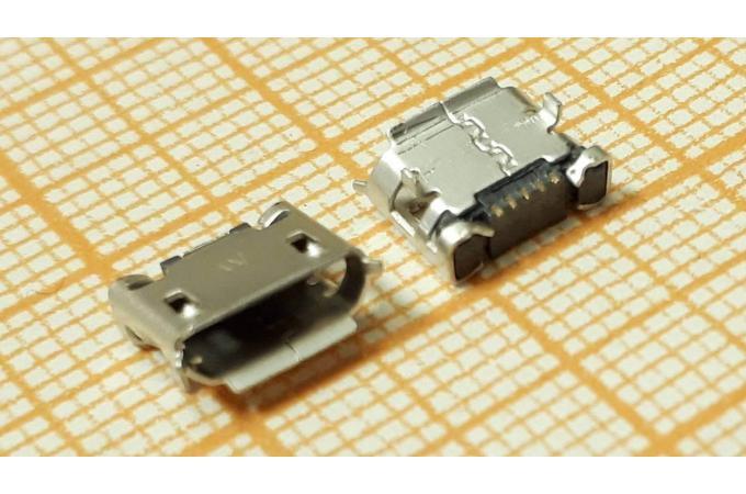 microUSB 2.0 разъем для планшетов Jack071 (5pin)