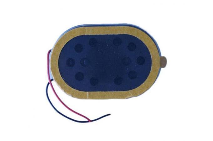 Buzzer (звонок) универсальный 20 x 30 mm овальный (2030) RED