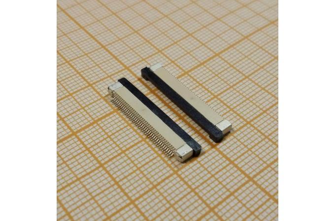 Контакты на плату под шлейф 40pin (планка сверху шлейфа)