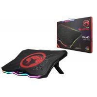 Охлаждающая подставка для ноутбука MARVO FN-40,  405x300x26 мм,  чёрно-красный