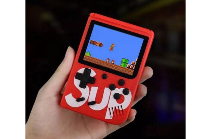 Портативная игровая приставка SUP GAME BOX 400 встроенных игр (цвета в ассортименте)