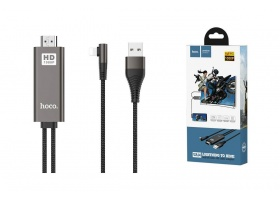 HDMI кабель HOCO UA14 Lightning to HDMI cable (L=1.8M)
