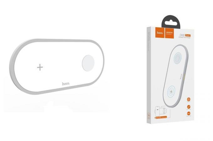 Зарядное устройство HOCO CW20 Wisdom 2-in-1 wireless charger