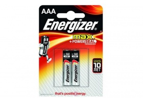 Элемент питания Energizer MAX+ Power SEAL LR03/286 BL2 2/AAA 2шт