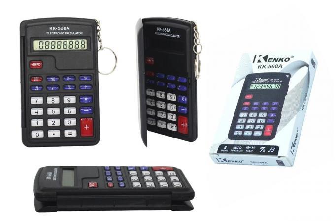 Калькулятор настольный Kenko KK-568A (8 разр)