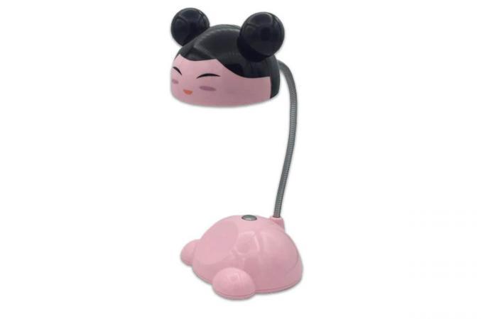 Настольный светильник светодиодный розовый детский