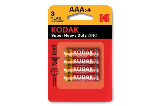 Батарея солевая Kodak R03/286 AAA BL4 (цена за блистер 4 шт)
