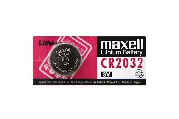 Батарейка литиевая Maxell CR2032 BL1 (цена за 1 шт)