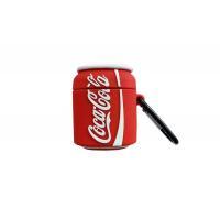 Чехол для гарнитуры вакуумной беспроводной AirPods Банка Coca Cola