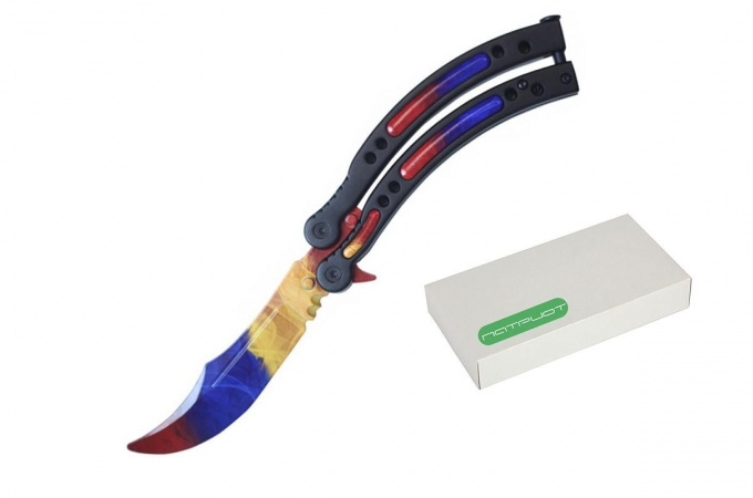 Нож складной Патриот PT-TRK01 (Мраморный градиент)