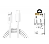 Кабель для iPhone HOCO X36 Swift PD charging data cable for Type-C to Lightning 1м белый