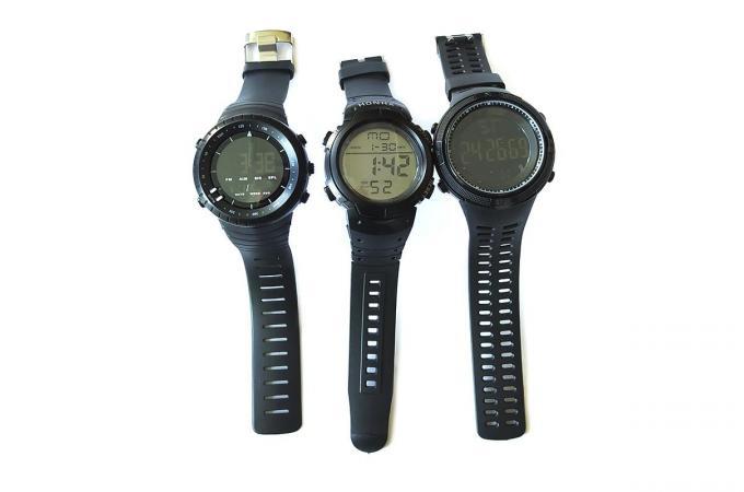 Часы электронные спортивные - большой циферблат WH-01
