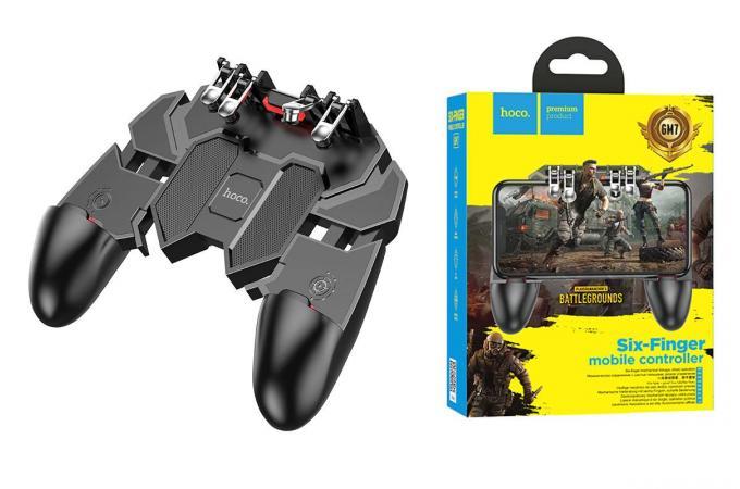 Геймпад триггер для телефона HOCO GM7 Eagle six finger game controller