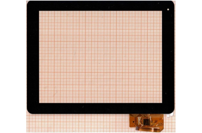 Тачскрин для планшета IconBit NetTab Space (черный) (001)