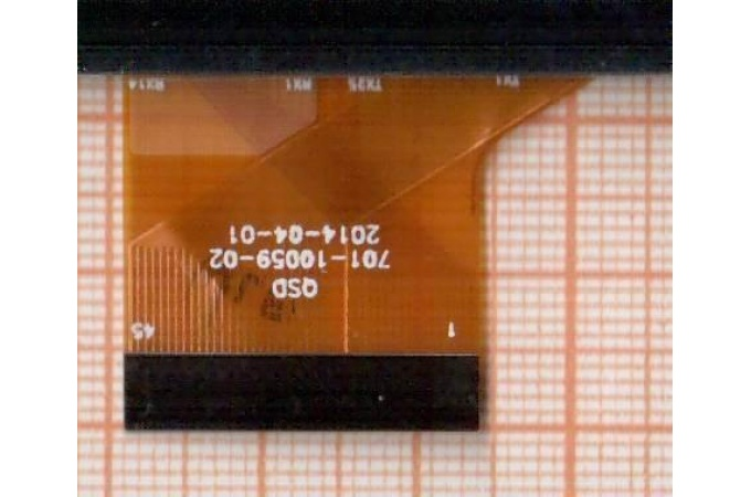 Тачскрин для планшета Digma Optima 10.2 3G TT1040MG (черный) (040)