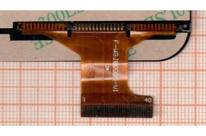 Тачскрин для планшета F-wgj80095-v1 (черный) (391)