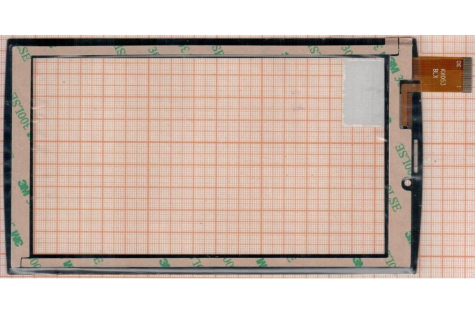 Тачскрин для планшета DEXP Ursus 7MV3 3G (черный) (606)