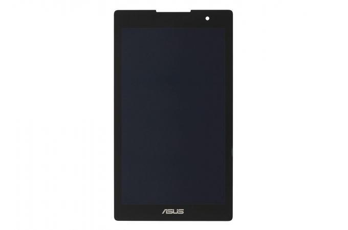 Дисплей для ASUS Z170MG ZenPad C 7.0/ P001 в сборе с тачскрином (черный), фронтальная камера расположена по центру