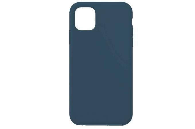 Чехол силиконовый для iPhone 11 Pro (5.8) Soft Touch космический синий 20